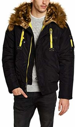 Alpha Industries Men's PPS N2B Down Long Sleeve Coat Coat