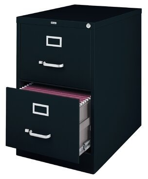 CommClad 2-Drawer Vertical Filing Cabinet CommClad
