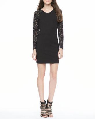 Parker Vita Lace-Sleeve Dress