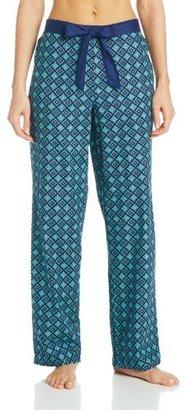 Nautica Sleepwear Women's Calendared Woven Printed Pant