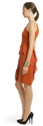 Roksanda Ilincic Rusted Orange Dress