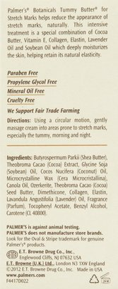 Palmers Botanicals Tummy Butter for Stretch Marks