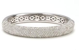 Nadri 'Micro' Medium Pavé Crystal Bangle