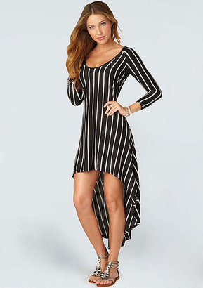 Alloy Jane Stripe Hi-lo Dress