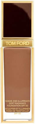 Tom Ford Shade And Illuminate Soft Radiance Foundation SPF 50 - Colour 11.5 Warm Nutmeg