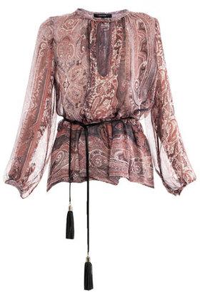 Isabel Marant Shayne paisley-print blouse