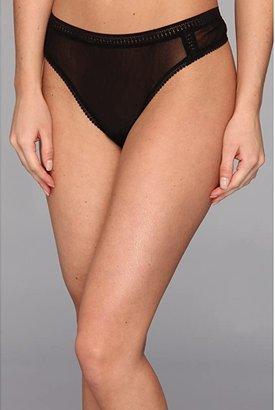OnGossamer Gossamer Mesh Hi-Cut Thong (Black) Women's Underwear