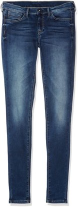 Pepe Jeans Girl's Pixlette Jeans Blue (Denim) 8 Years (Manufacturer size: 8)