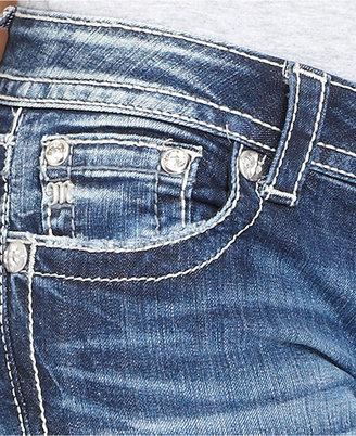 Miss Me Jeans, Bootcut Fleur-De-Lis-Pocket