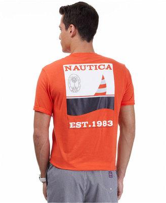 Nautica Shirt, Short Sleeve Sail Shirt