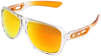 Oakley Dispatch II Iridium (Persimmon Fade/Fire Iridium Lens) - Eyewear