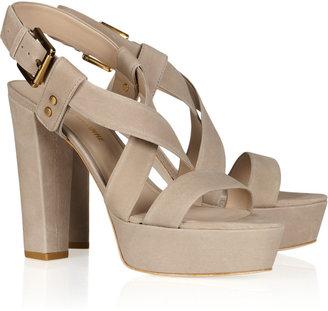 Pour La Victoire Neala nubuck leather sandals