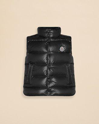 Moncler Boys' Puffer Vest - Big Kid $355 thestylecure.com