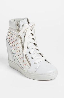 Steve Madden 'Zipps' Wedge Sneaker