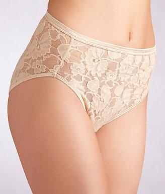 Vanity Fair Illumination Helenca Lace Hi-Cut Brief Panty