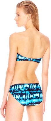 Michael Kors MICHAEL Torino Tie-Dye Bandeau Top & Swim Bottom