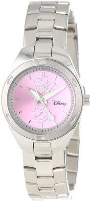 EWatchFactory Disney Women's W000488 Minnie Mouse Stainless Steel Bracelet Watch