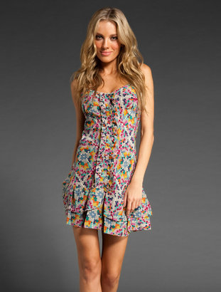 Parker Ruffle Front Dress