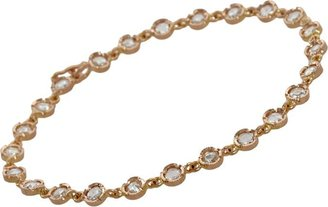 Irene Neuwirth Diamond Collection Petite Round-Link Bracelet-Colorless