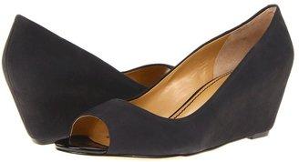 Nine West Mymoon (Black Nubuck) - Footwear