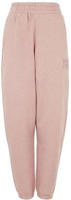 Alexander Wang Foundation Logo Cotton-blend Sweatpants