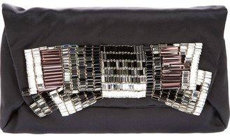 Lanvin crystal clutch bag