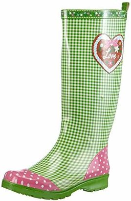 Playshoes Womens Country House Wellington Boots,UK 5