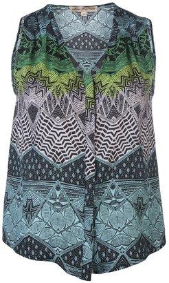 Mara Hoffman Sleeveless print shirt