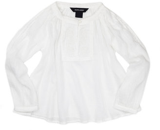 Ralph Lauren Lightweight Gauze Tunic, White