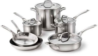 Calphalon AccuCore Stainless Steel 10-pc. Cookware Set