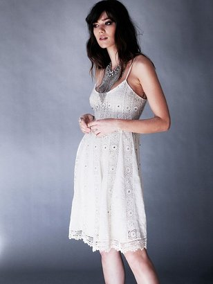 Free People Sunray Trapeze Dress