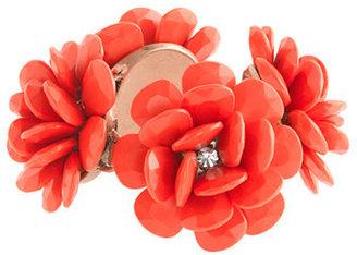 J.Crew Beaded rose bracelet