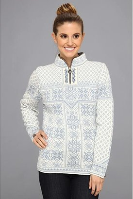 Dale of Norway Peace (A-Ice Blue/Off White) Women's Sweater