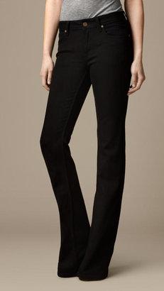 Burberry Hempton Black Bootcut Jeans