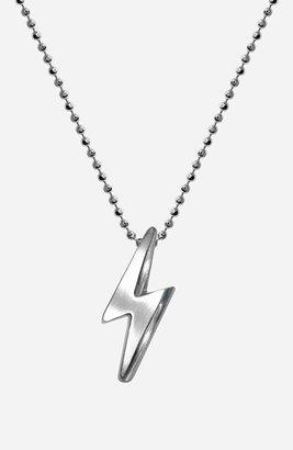 Lightning Bolt Alex Woo 'Little Rock Star' Pendant Necklace