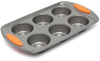 Rachael Ray Yum-O Nonstick 6-Cup Muffin Pan