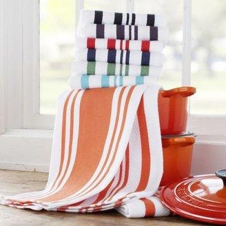Sur La Table Flame-Striped Towels, Set of 3