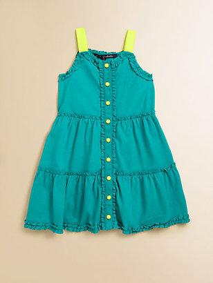 Lili Gaufrette Toddler's & Little Girl's Ruffled Jersey Romper