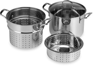Denmark Stainless Steel 8-Quart 4-Piece Multi-Cooker