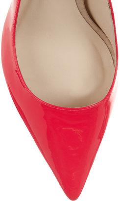 Webster Sophia Lola neon patent-leather pumps