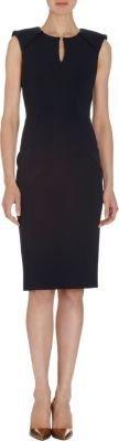 J. Mendel Seam Detail Sleeveless Dress