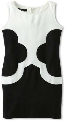 Biscotti Mod Squad Sleeveless Dress (Big Kids) (Black/Ivory) Girl's Dress