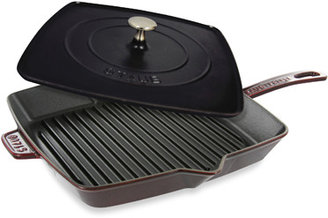 Staub 12-Inch Grill Pan and Press Combo