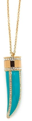 CC Skye Glamour Turquoise Horn Necklace