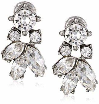 Ben-Amun Jewelry Crystal Stud Earrings for Bridal Wedding Anniversary