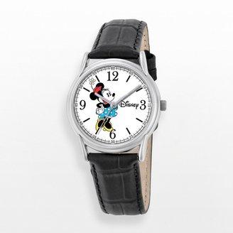 Disney Disney's Minnie Mouse Women's Leather Watch
