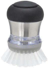 OXO Good Grips® Steel Soap Squirting Palm Brush