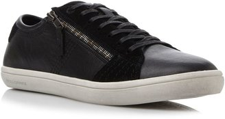 HUGO BOSS Soundy cupsole side zip lace up trainers