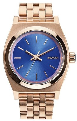 Women's Nixon 'The Small Time Teller' Bracelet Watch, 26Mm $100 thestylecure.com