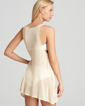 Wildfox Couture Pineapple Cover Up Tank Dress